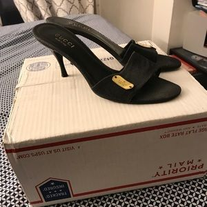 Authentic Gucci women's slip on shoes size 10